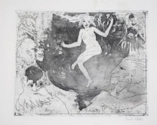 Der Tod Als TÄnzerin by Emil Nolde at Galerie Henze & Ketterer & Triebold