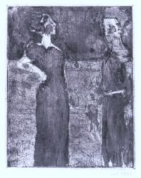 Die Herrin by Emil Nolde at Galerie Henze & Ketterer & Triebold