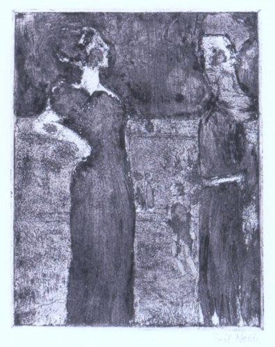 Die Herrin by Emil Nolde