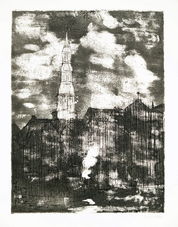 Hamburg, Katharinenkirche by Emil Nolde