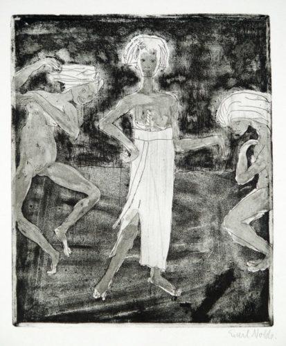 Junger FÜrst Und TÄnzerin by Emil Nolde at Galerie Henze & Ketterer & Triebold