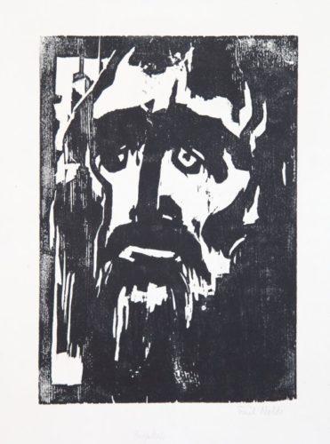 Prophet by Emil Nolde