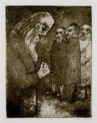 Staatsmann Und BÜrger by Emil Nolde