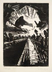 Gerader Kanal by Erich Heckel at Galerie Henze & Ketterer & Triebold