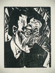 Roquairol (bildnis Ernst Ludwig Kirchner) by Erich Heckel at Galerie Henze & Ketterer & Triebold