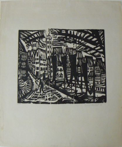 Stralsund by Erich Heckel