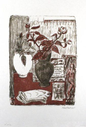 Stilleben by Erich Heckel at Sylvan Cole Gallery