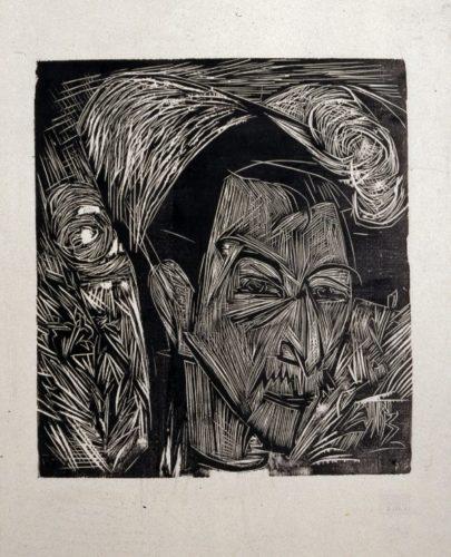 David MÜller by Ernst Ludwig Kirchner
