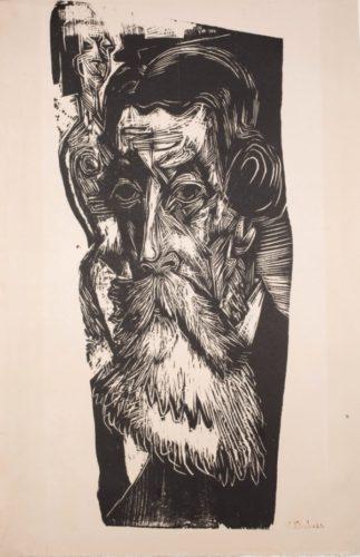 Kopf Ludwig Schames by Ernst Ludwig Kirchner at Galerie Henze & Ketterer & Triebold