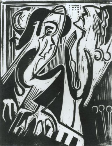 Pianist Und SÄngerin by Ernst Ludwig Kirchner