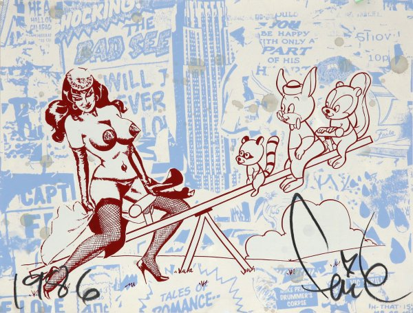 Bad Seed Iii by Faile