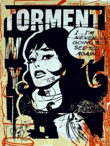 Torment In Orange by Faile