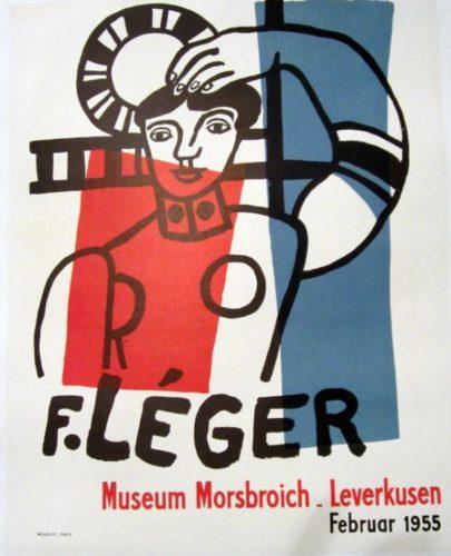 F. Leger, Museum Morsbroich, Leverkusen, Februar 1955 by Fernand Leger