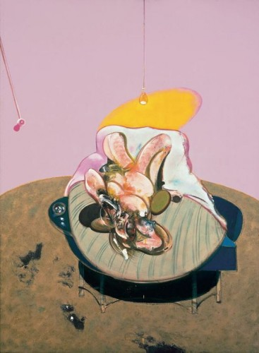 Lying Figure by Francis Bacon