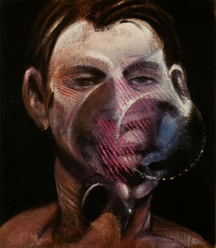 Portrait Of Peter Beard by Francis Bacon