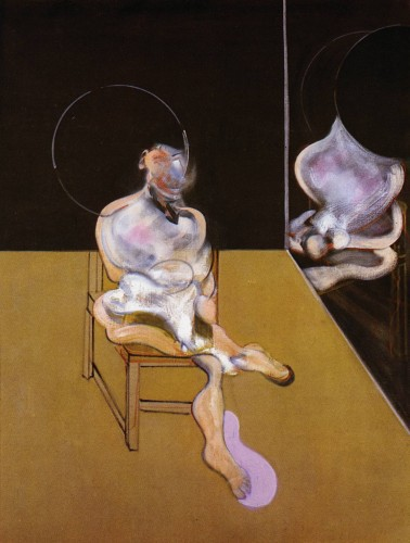 Seated Figure by Francis Bacon at