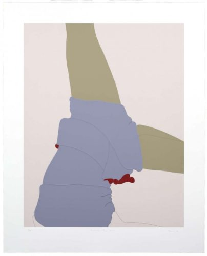 American Tan Xxiv by Gary Hume RA at Gary Hume RA