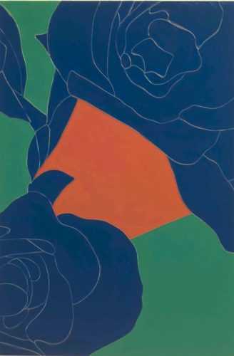 Geranium by Gary Hume RA at Gary Hume RA