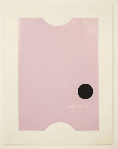 Ticket by Gary Hume RA at