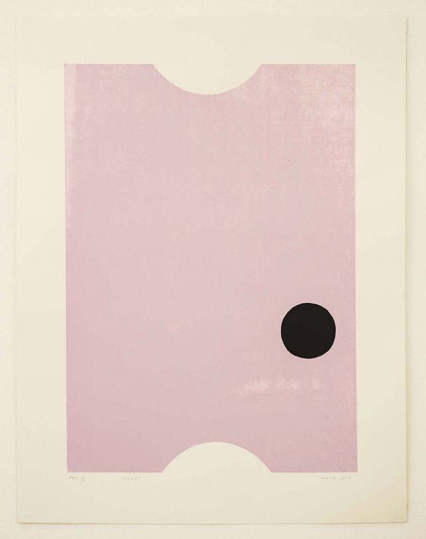 Ticket by Gary Hume RA