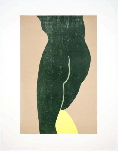 Yellow Slip by Gary Hume RA at Gary Hume RA
