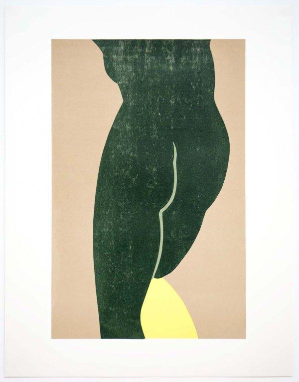 Yellow Slip by Gary Hume RA