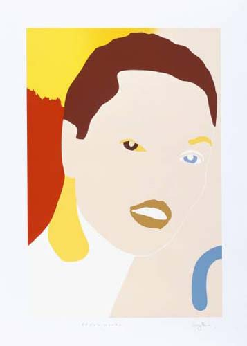 Young Woman by Gary Hume RA at