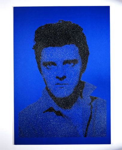 Jackie Blue Elvis With Diamonds by Gavin Turk at