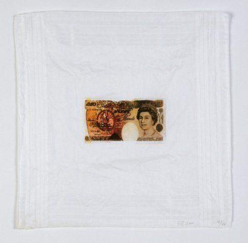 £50 Note by Gavin Turk