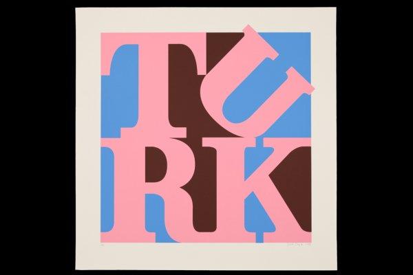 Turk Love Pink by Gavin Turk