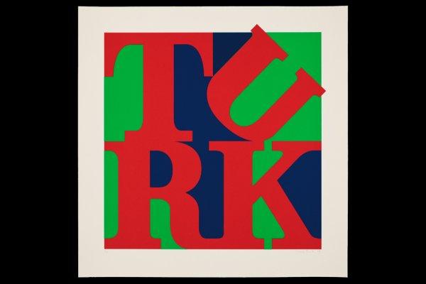 Turk Love Red by Gavin Turk