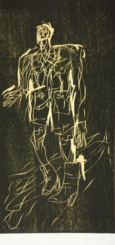 Poet In Stiefeln (remix) by Georg Baselitz