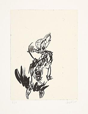 Aus der Anatomie by Georg Baselitz at