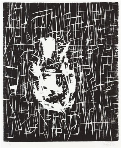 Dresdner Frau I by Georg Baselitz at