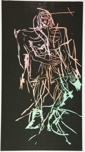 Shepherd (remix) by Georg Baselitz