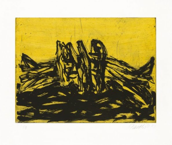 Winterschlaf Vi by Georg Baselitz at