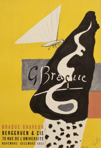 Galerie Berggruen, 1953 by Georges Braque at Georges Braque