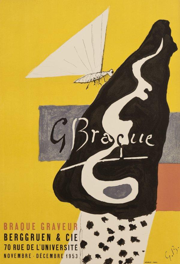 Galerie Berggruen, 1953 by Georges Braque
