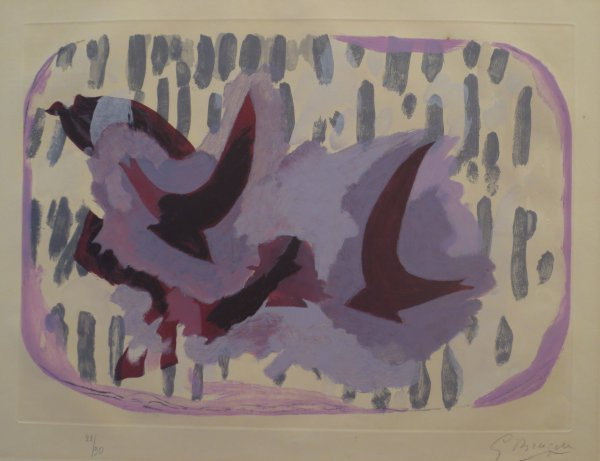 L'ordre Des Oiseaux by Georges Braque at Isselbacher Gallery (IFPDA)