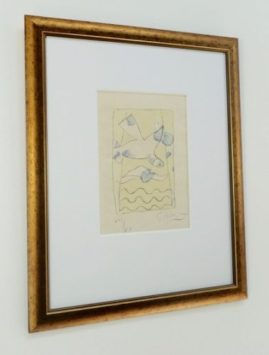 Le Solitaire by Georges Braque at