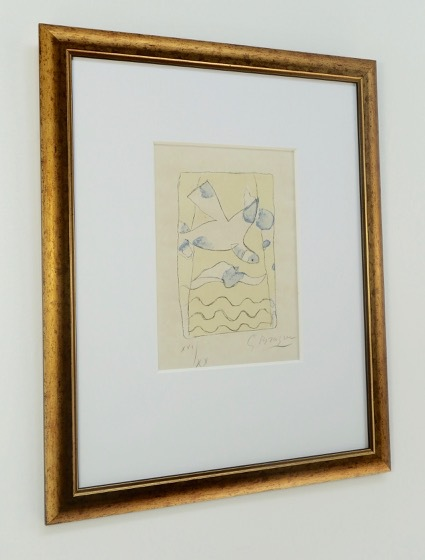 Le Solitaire by Georges Braque