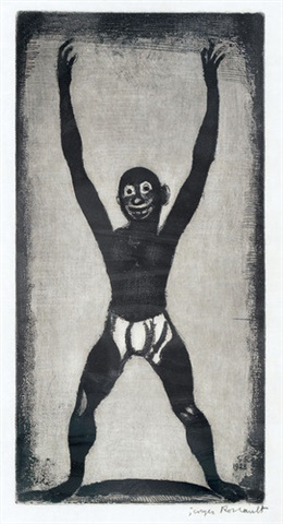 Bamboula by Georges Rouault