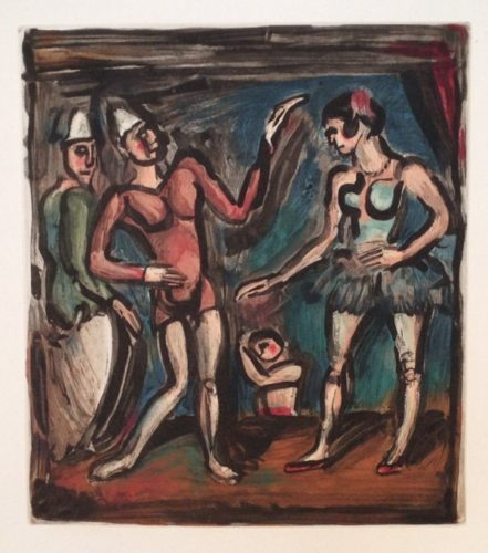 La Parade by Georges Rouault at