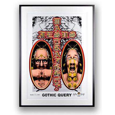 Gothic Query by Gilbert & George at