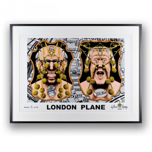 London Plane by Gilbert & George at