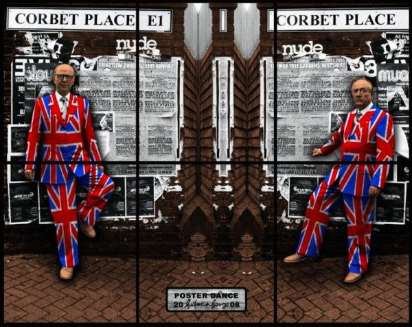 Poster Dance by Gilbert & George at