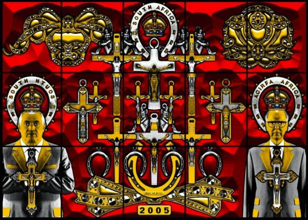 South Africa by Gilbert & George at