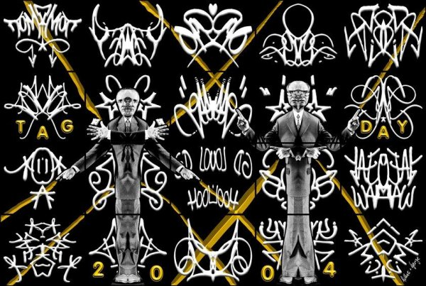 Tag Day by Gilbert & George at