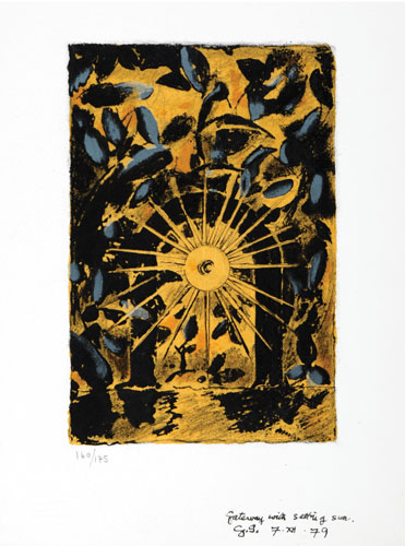 Gateway With Setting Sun by Graham Sutherland