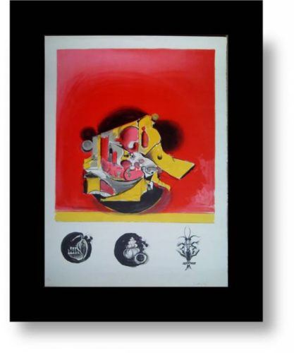 The Rock by Graham Sutherland at